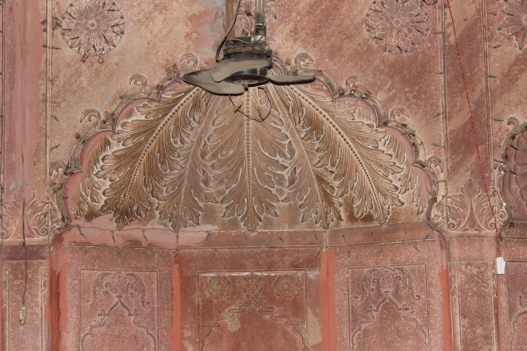 Carved Mehrab at Nawab Rukn-Ud-Daula