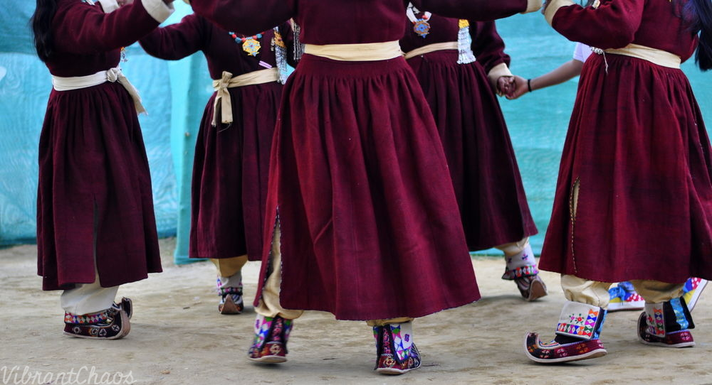 Ladakhi outfit - quirky and fascinating aspects like these shoes