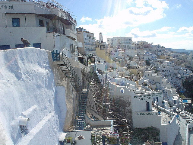 The beautiful landscape of the Santorini Islands in Greece Picture Courtesy:  Lyn Gateley from Flickr