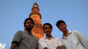 Up Up Up In The Air- The Qutub Minar
