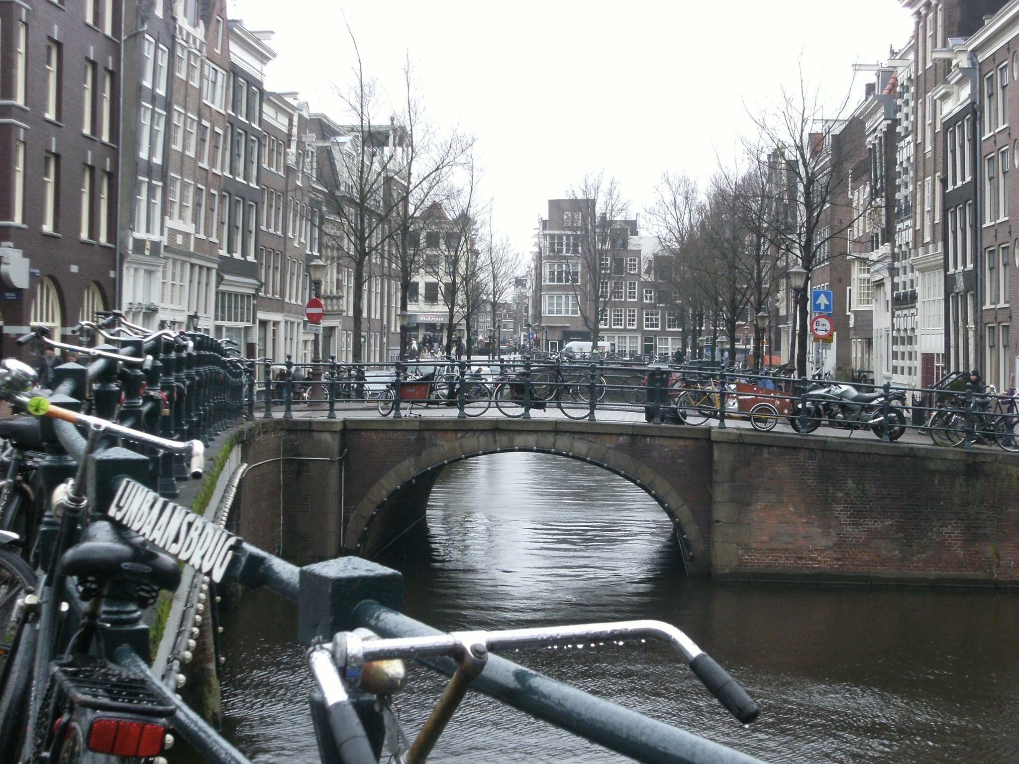 Seventeenth-century canal ring area of Amsterdam inside the Singelgracht - Netherlands