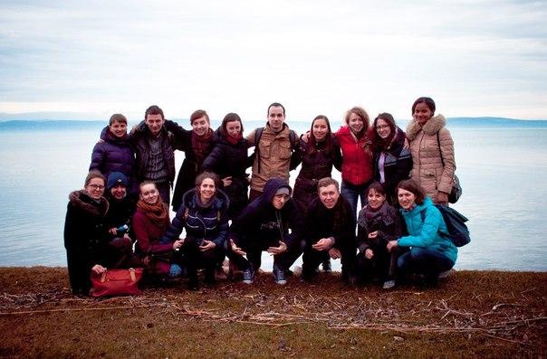 Student summit in Hungary. Ukrainian team