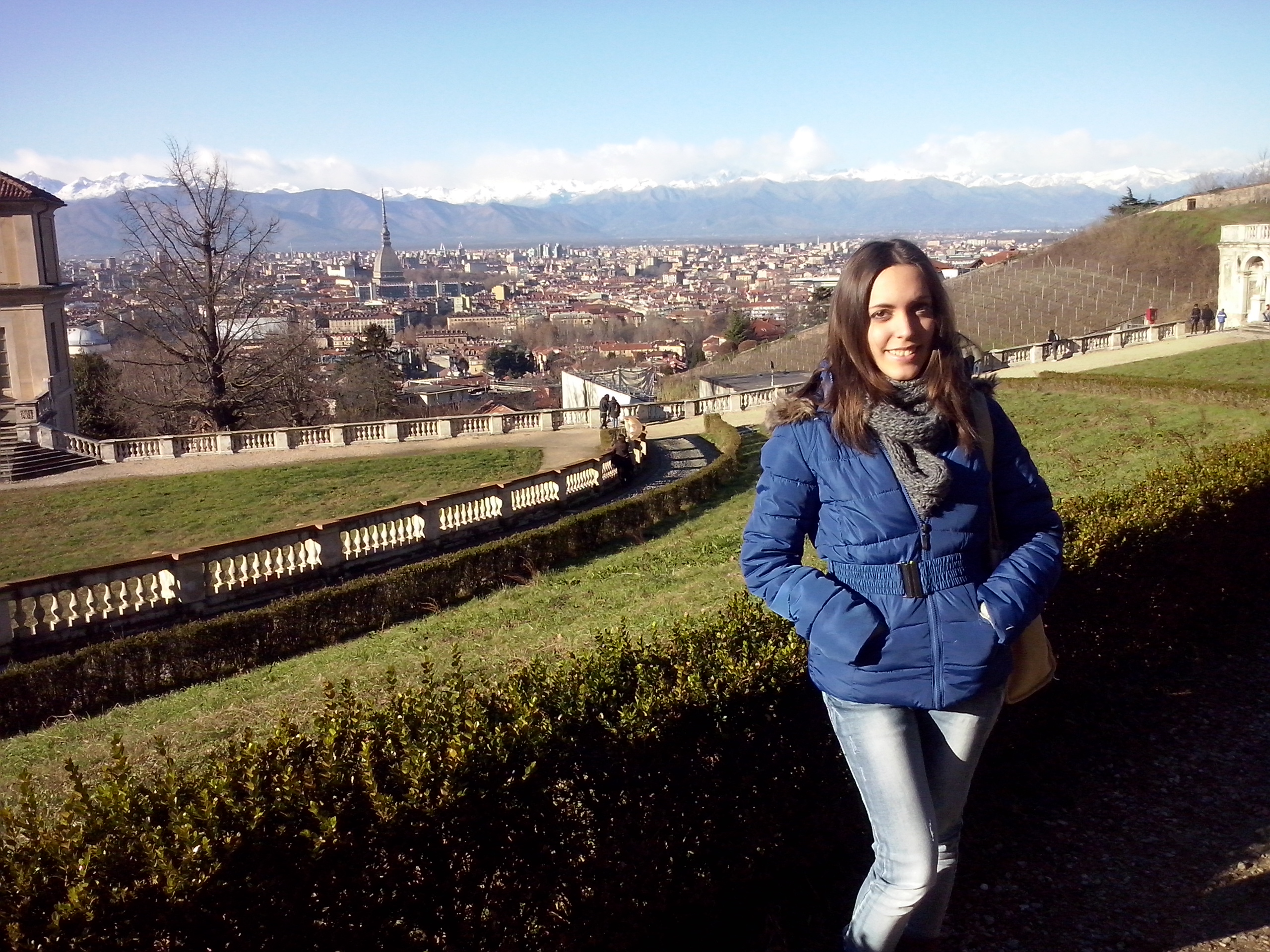 Roberta at villa regina