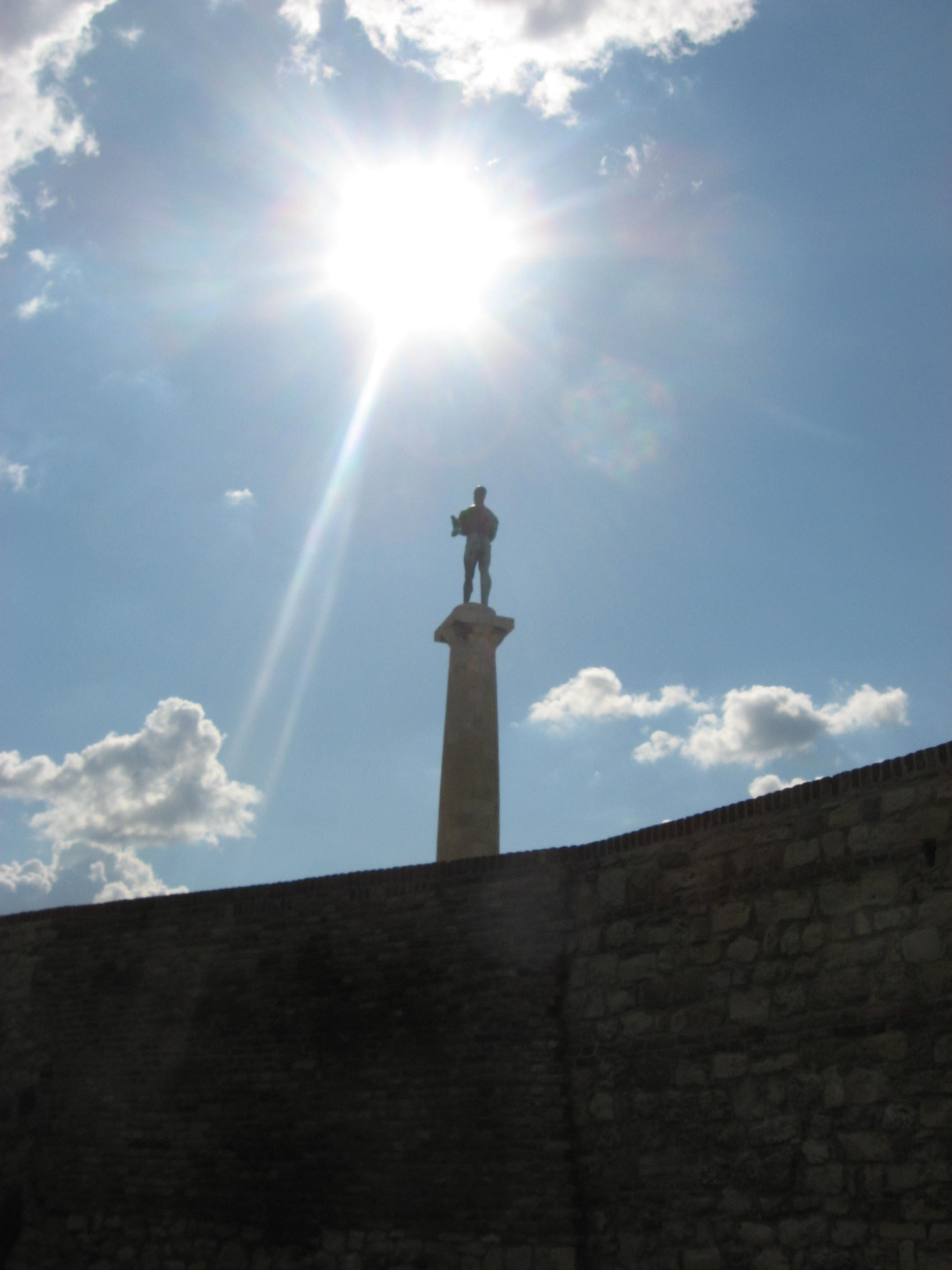 The Victor in the sun