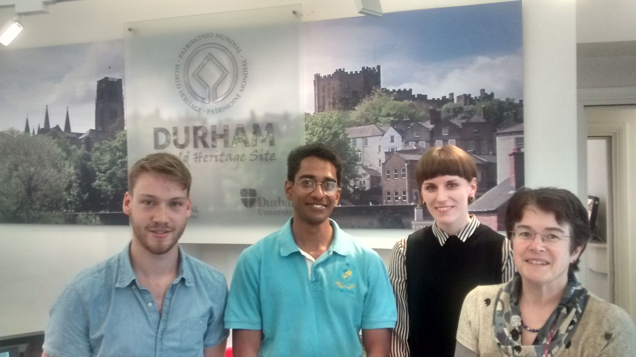 Met the WHS coordinator at Durham