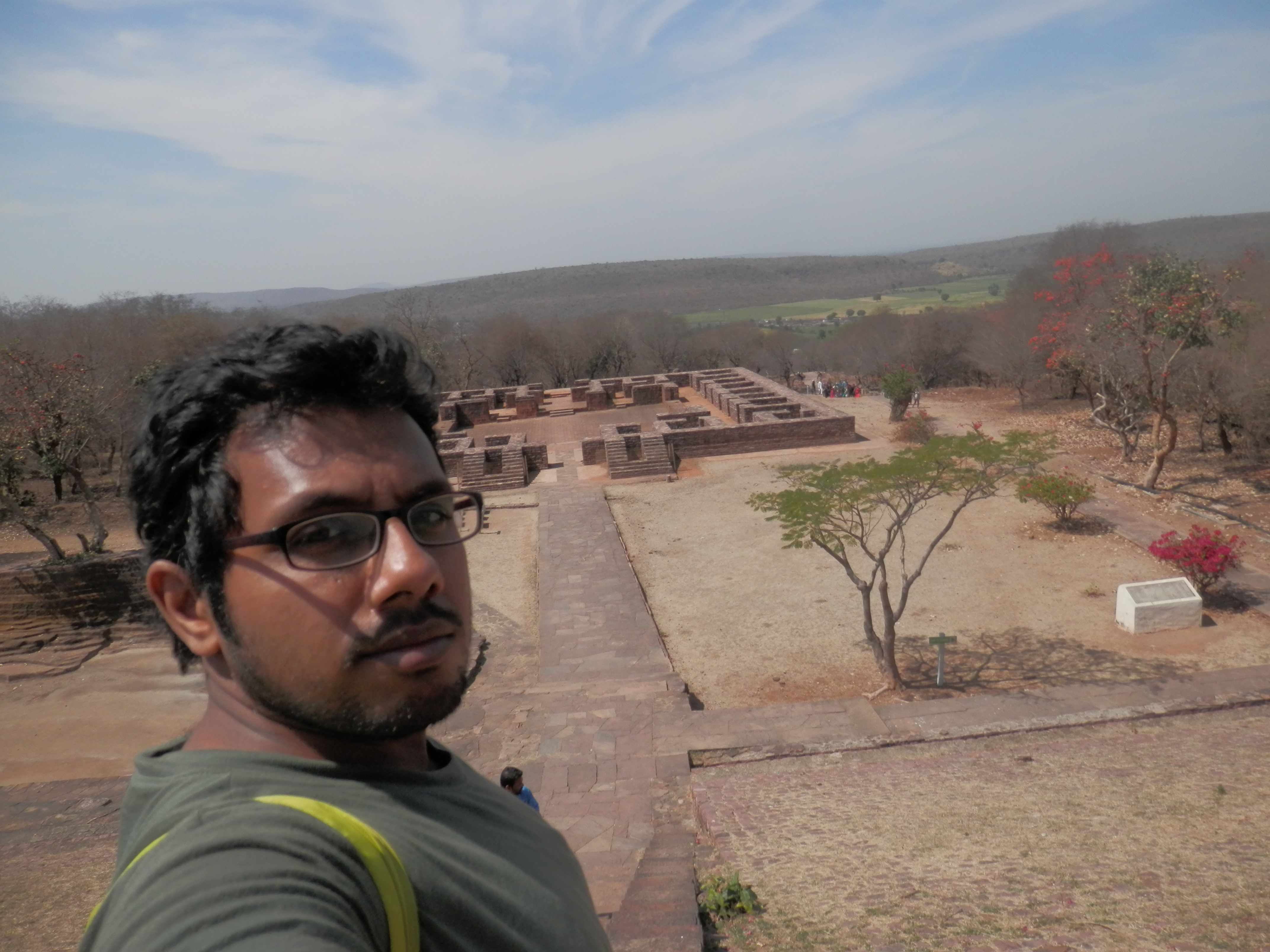 At Monastery 51 of Sanchi