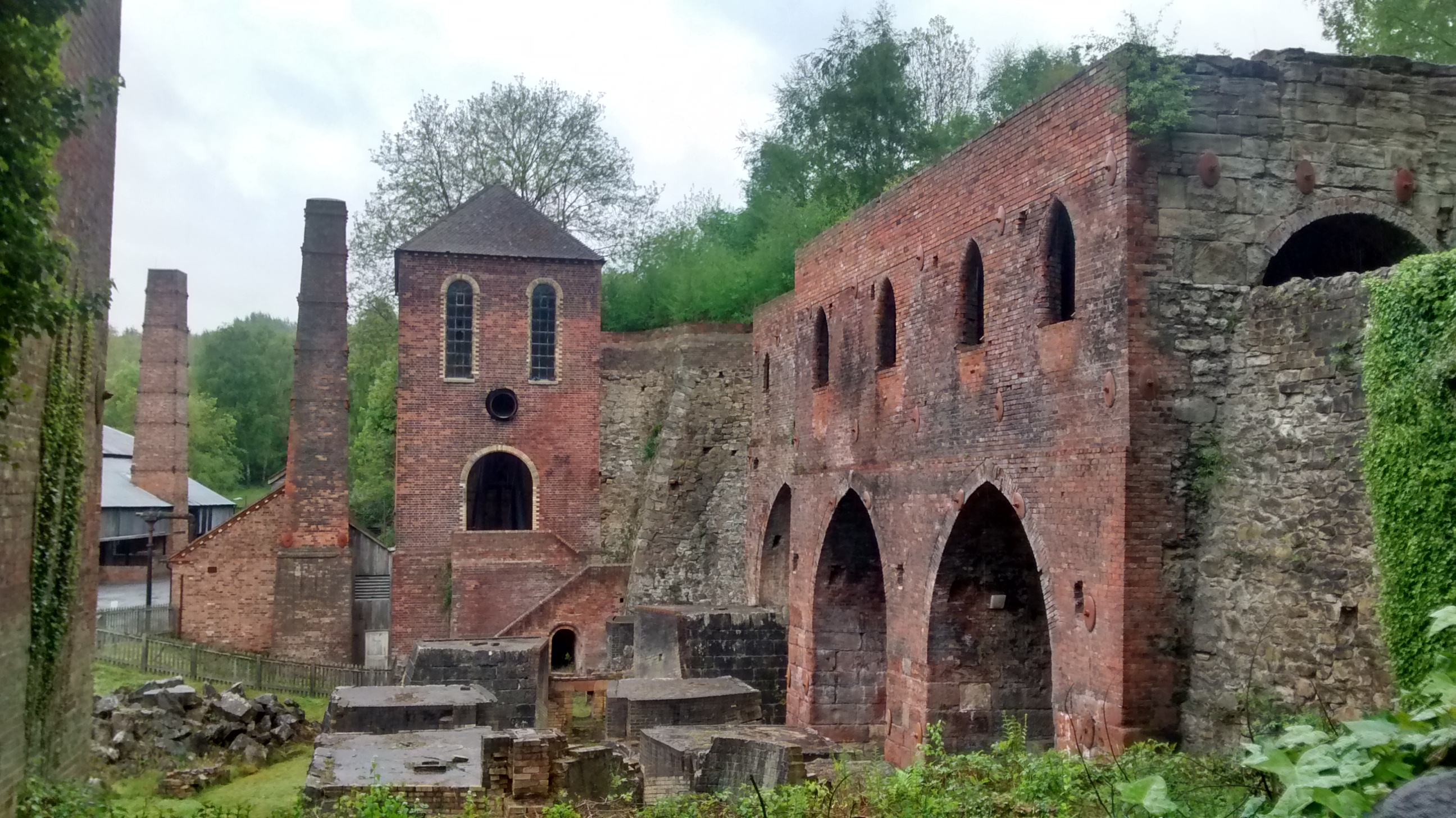 Relics of the industrial revolution