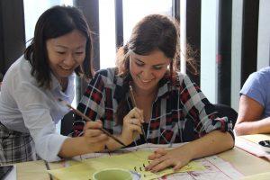 Chinese Calligraphy and Beginners Mandarin Class in Beijing