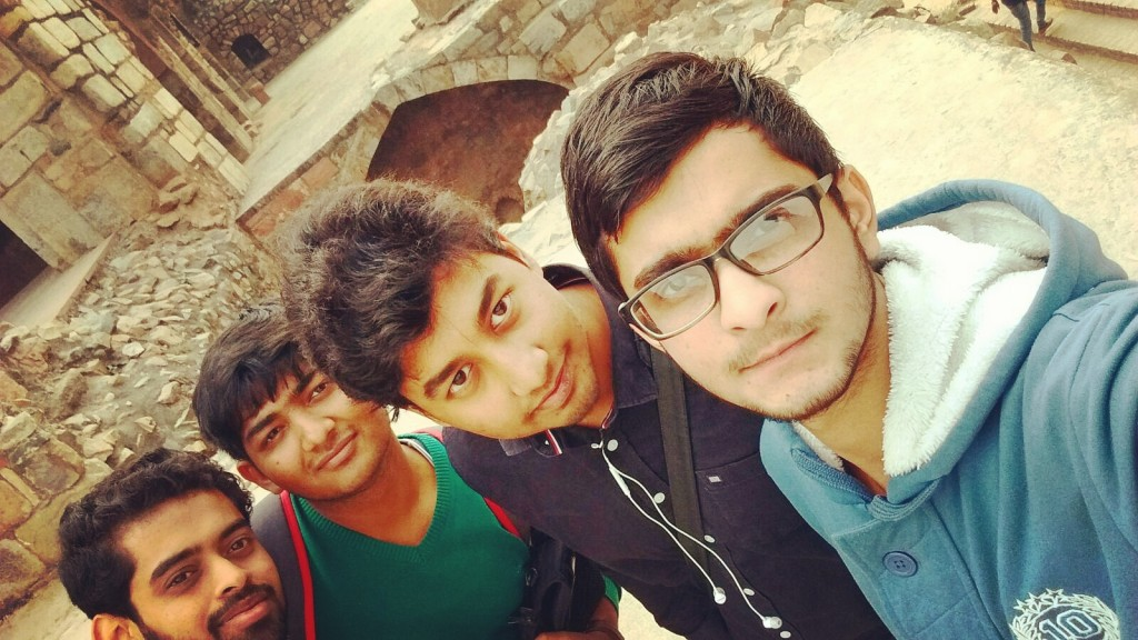 Purana qila and friends