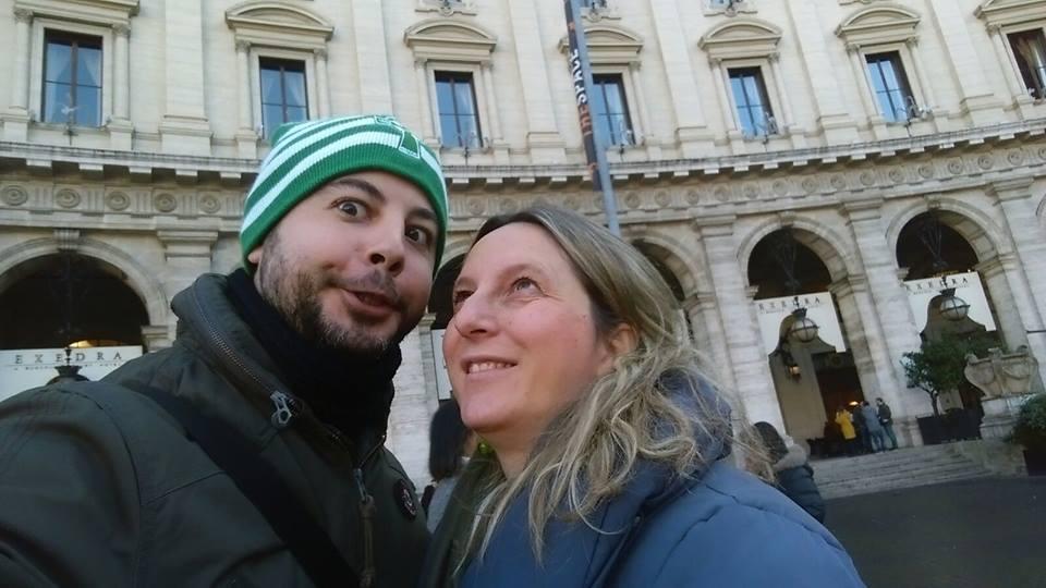 Roma - Piazza Esedra - Evento organizzato dal Presidio Culturale Decumano Sud