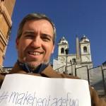 Roma - Scalinata di Trinità dei Monti - Evento organizzato da M&L