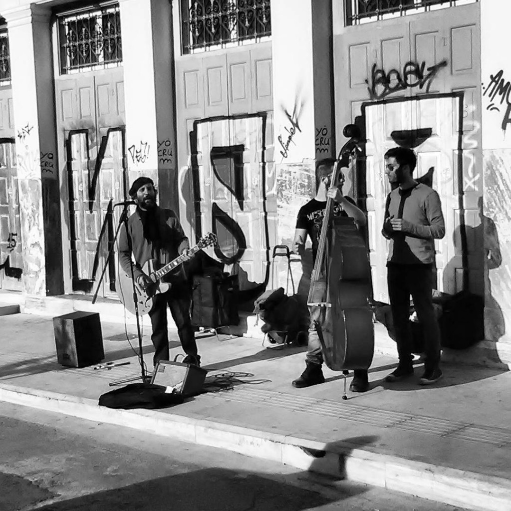 #makeheritagefun in Athens - feat. street music
