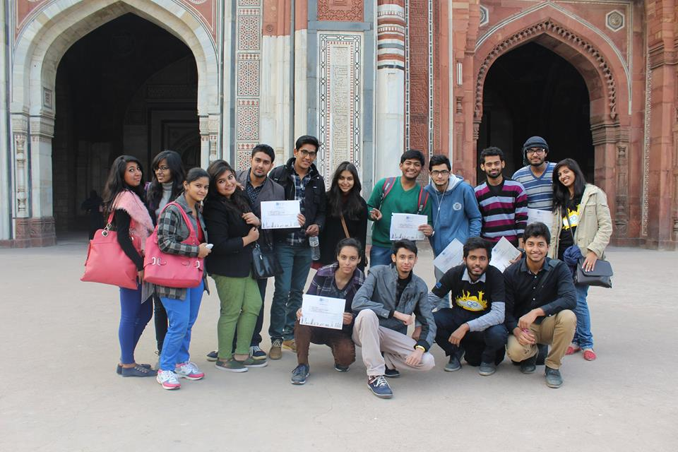 #makeheritagefun in Purana Qila, Delhi