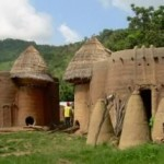 House of tatas in Kande, north of togo