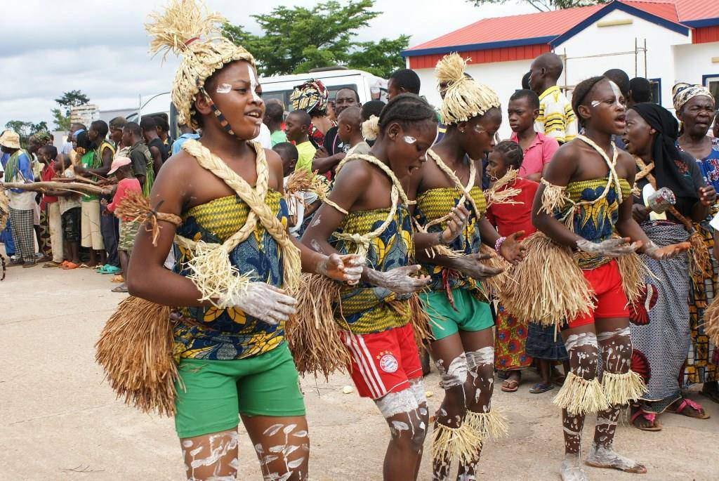 Traditional Dance in Togo