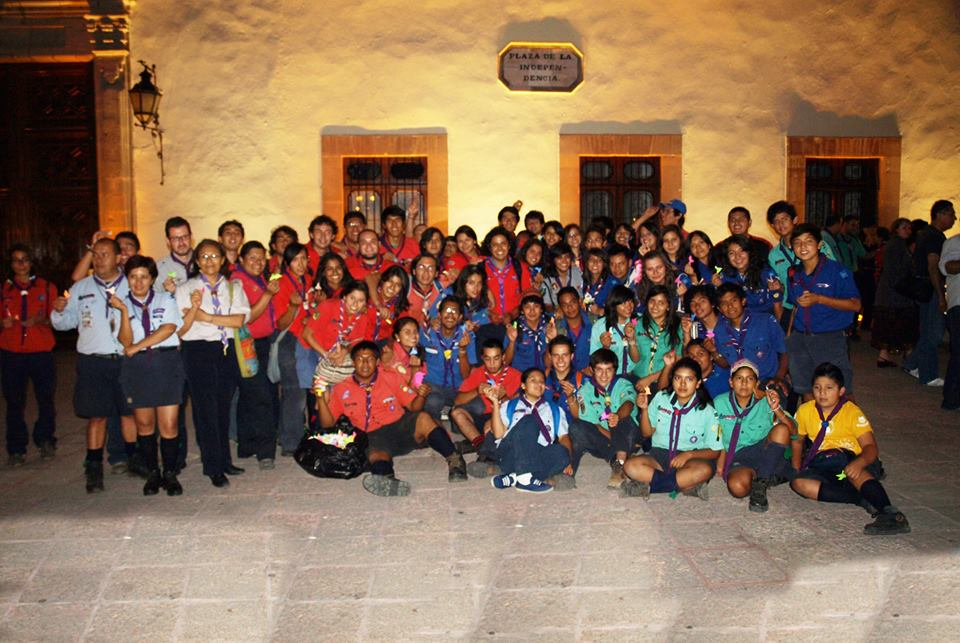 Centro Historico Queretaro Mensajeros de la paz mexico