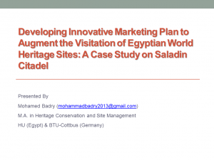 Cultural Heritage and Heritage Marketing Literature