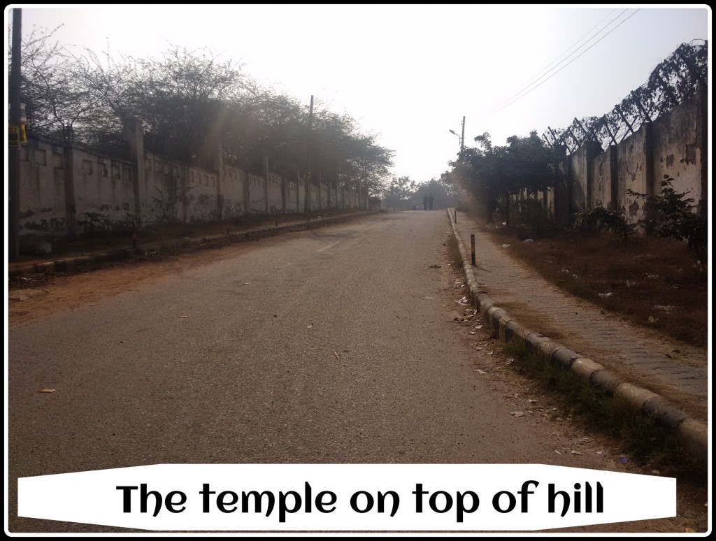 Temple on top of hill