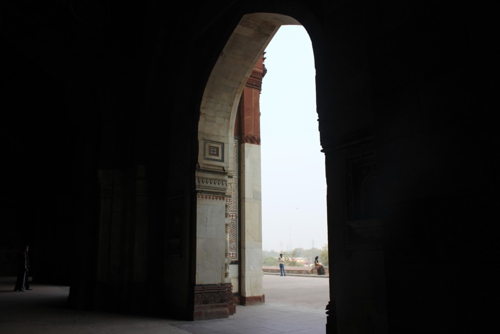 Purana Qila in Shadows