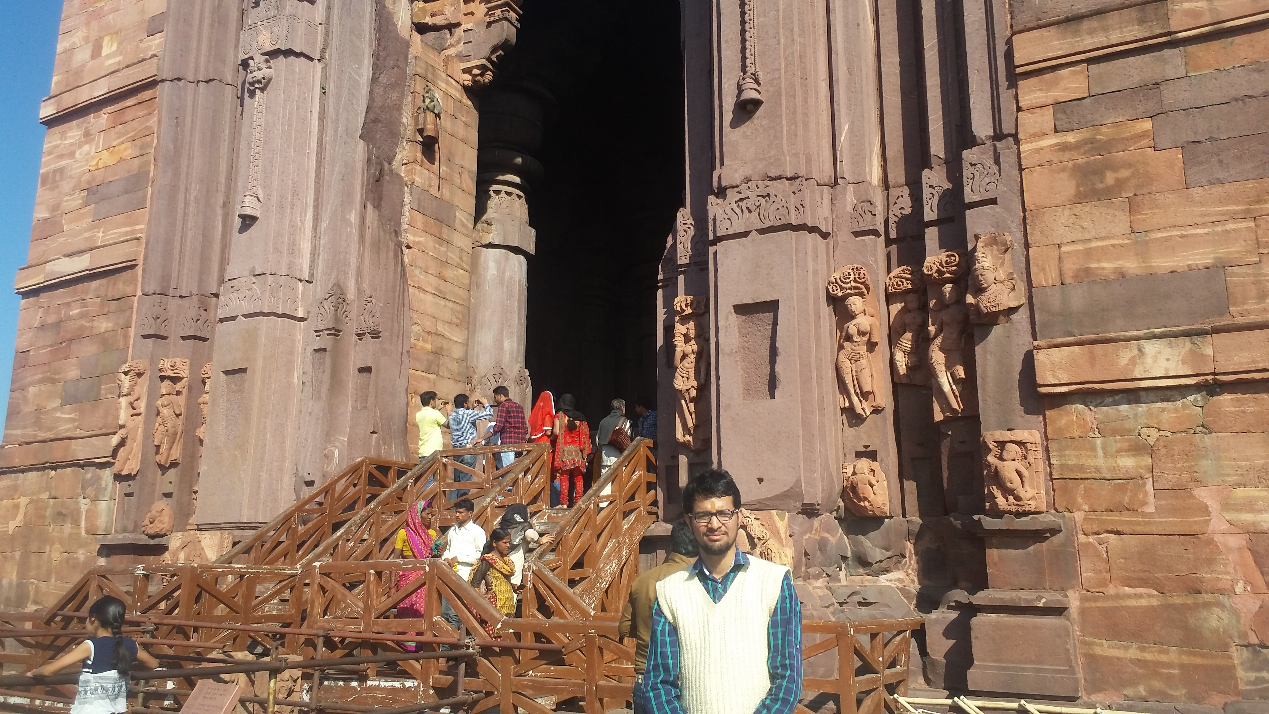 Me in front of temple (1)