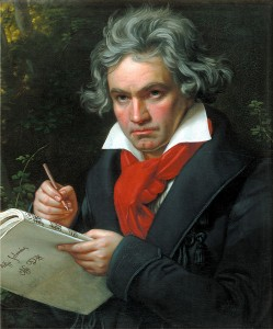 Music composer Beethoven