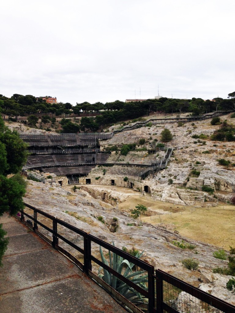 Roman amphitheater of Cagliari