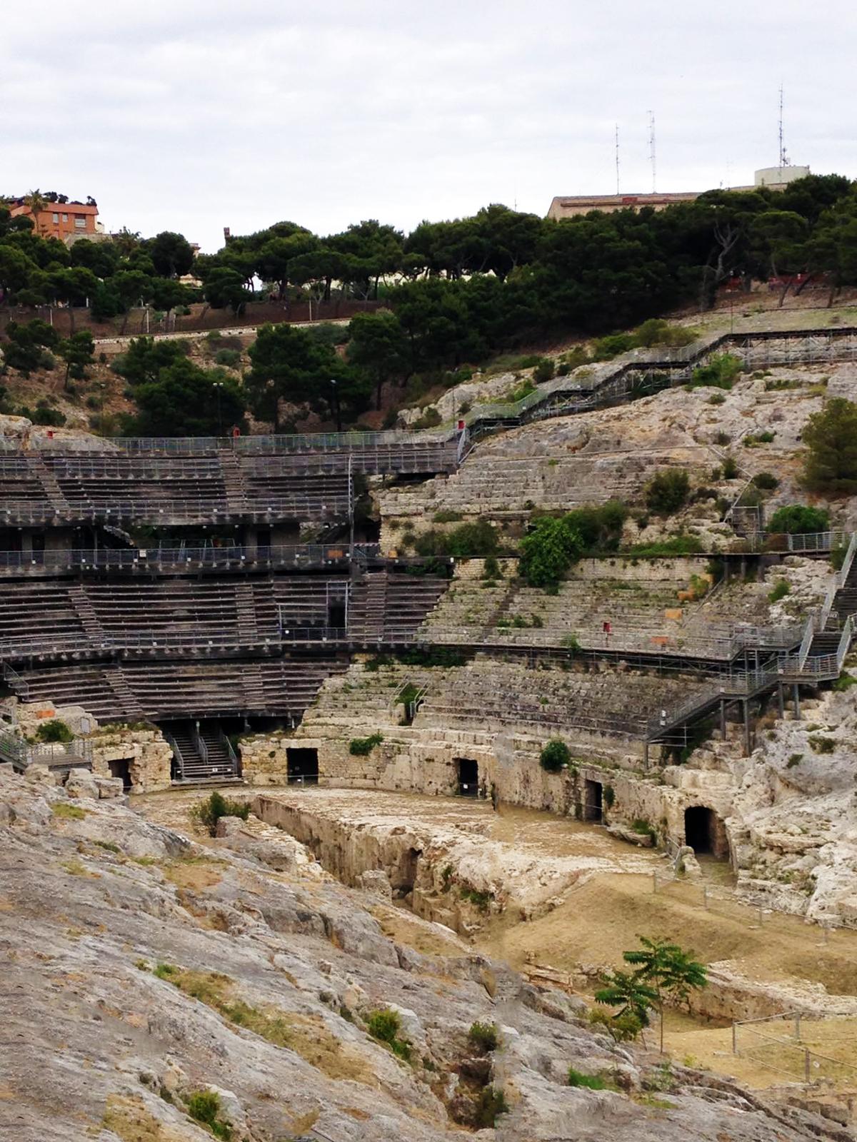 Roman amphitheater of Cagliari