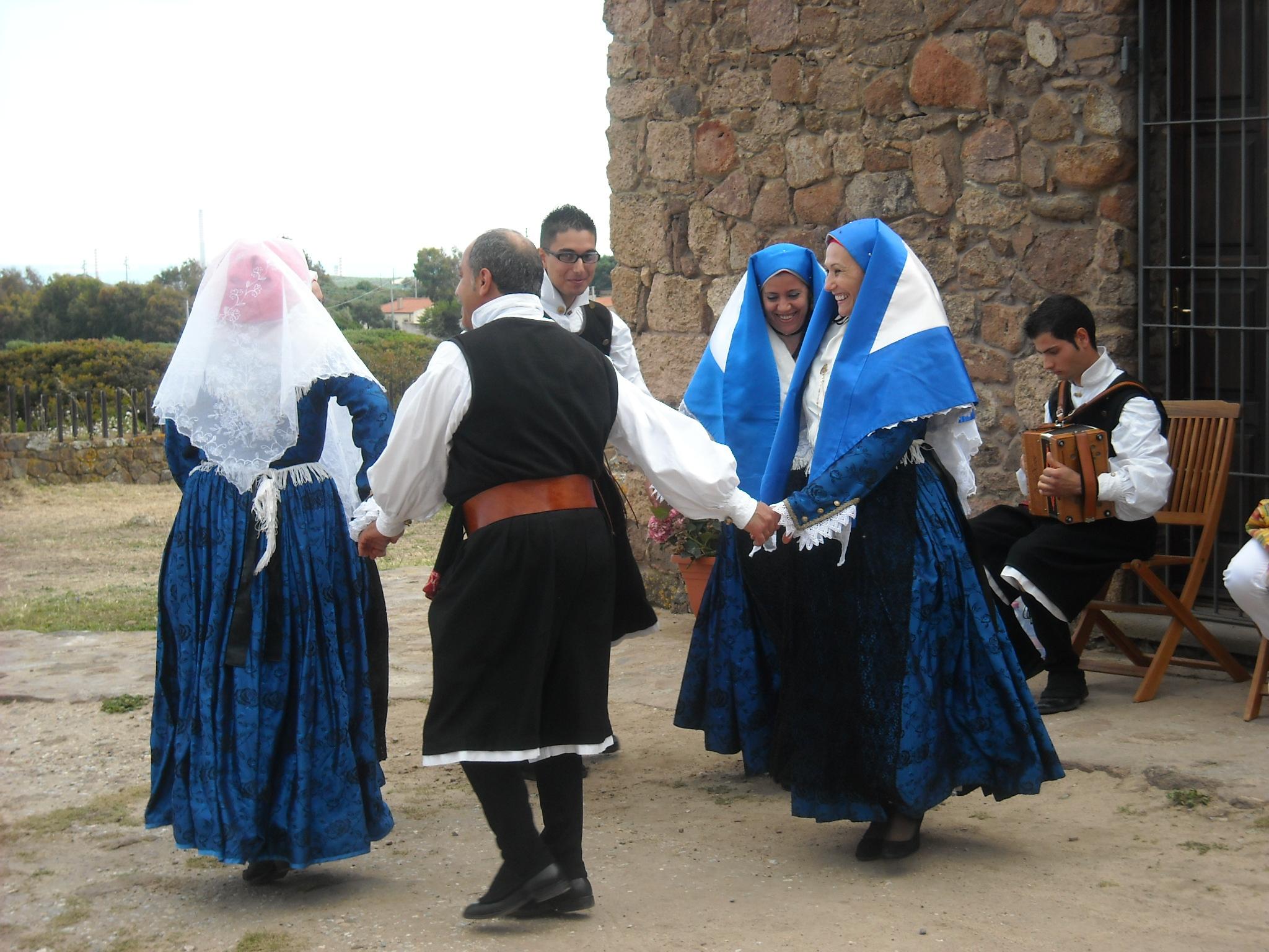 performance by Folk group Maria Carta, Gonnesa;