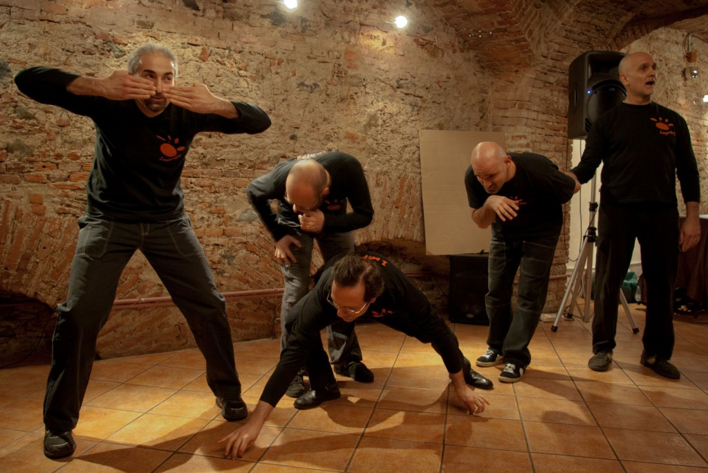 - Improvisational theater in Turin