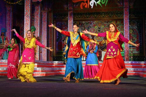 Bhangra Dance form