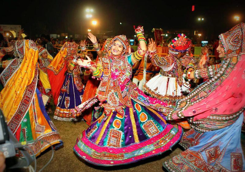 Garba Dance form