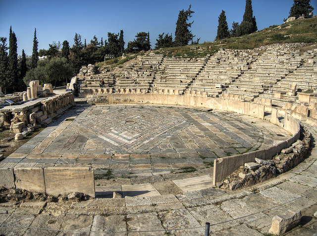 Theatre of Dionysus, Athens Courtesy:  Neil Howard