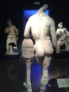 Grrece Antikythera shipwreck collection at National Archaeological Museum of Athens, GreecePhoto Courtesy Nikoleta Platia