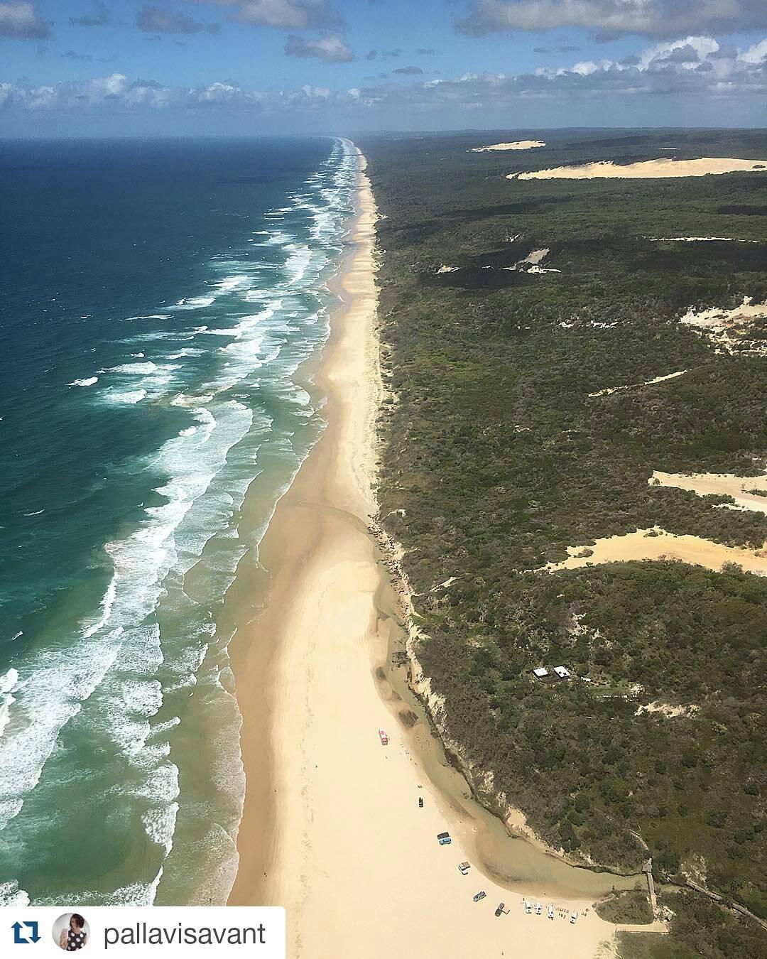 #makeheritagefun at Fraser Island
