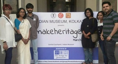 #makeheritagefun at Indian Museum, Kolkata