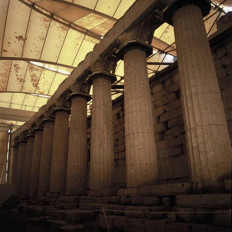 Temple of Apollo Epicurius at Bassae Photo Courtesy: UNESCO