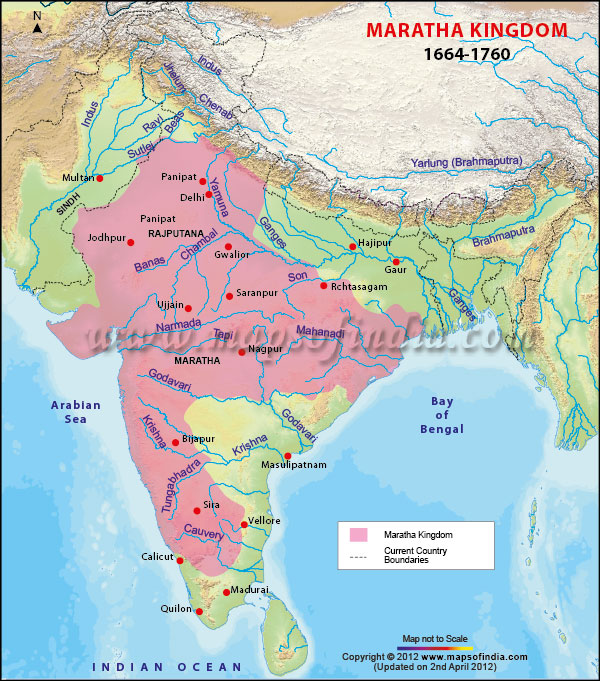 maratha-kingdom-map