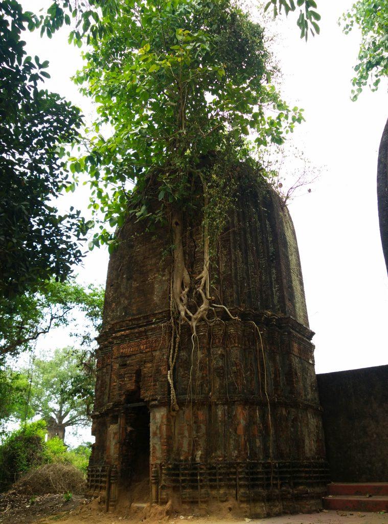 crumbling temple