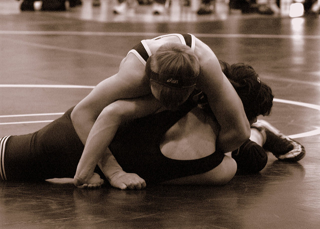 Wrestling,  one of the oldest sports in the world