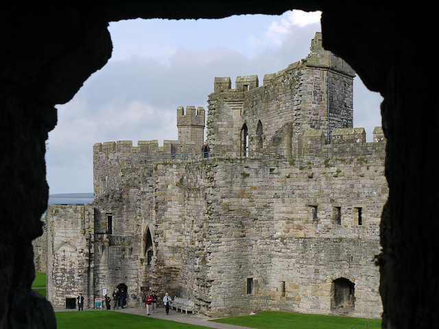 GoUNESCO Caernarfon Castle Smabs Sputzer