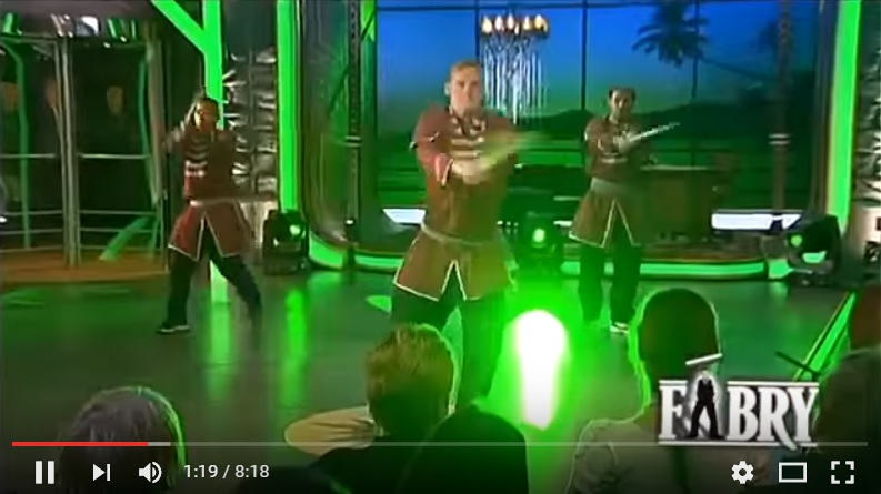 TV Show  Performance Click for video