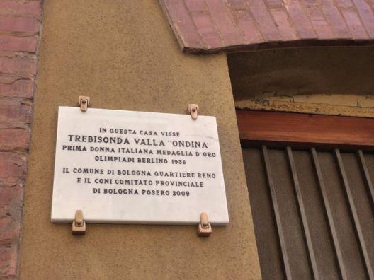 Photo - The house where Ondina lived,via della Ferriera,Bologna Photo courtesy –bibliotecasalaborsa.it