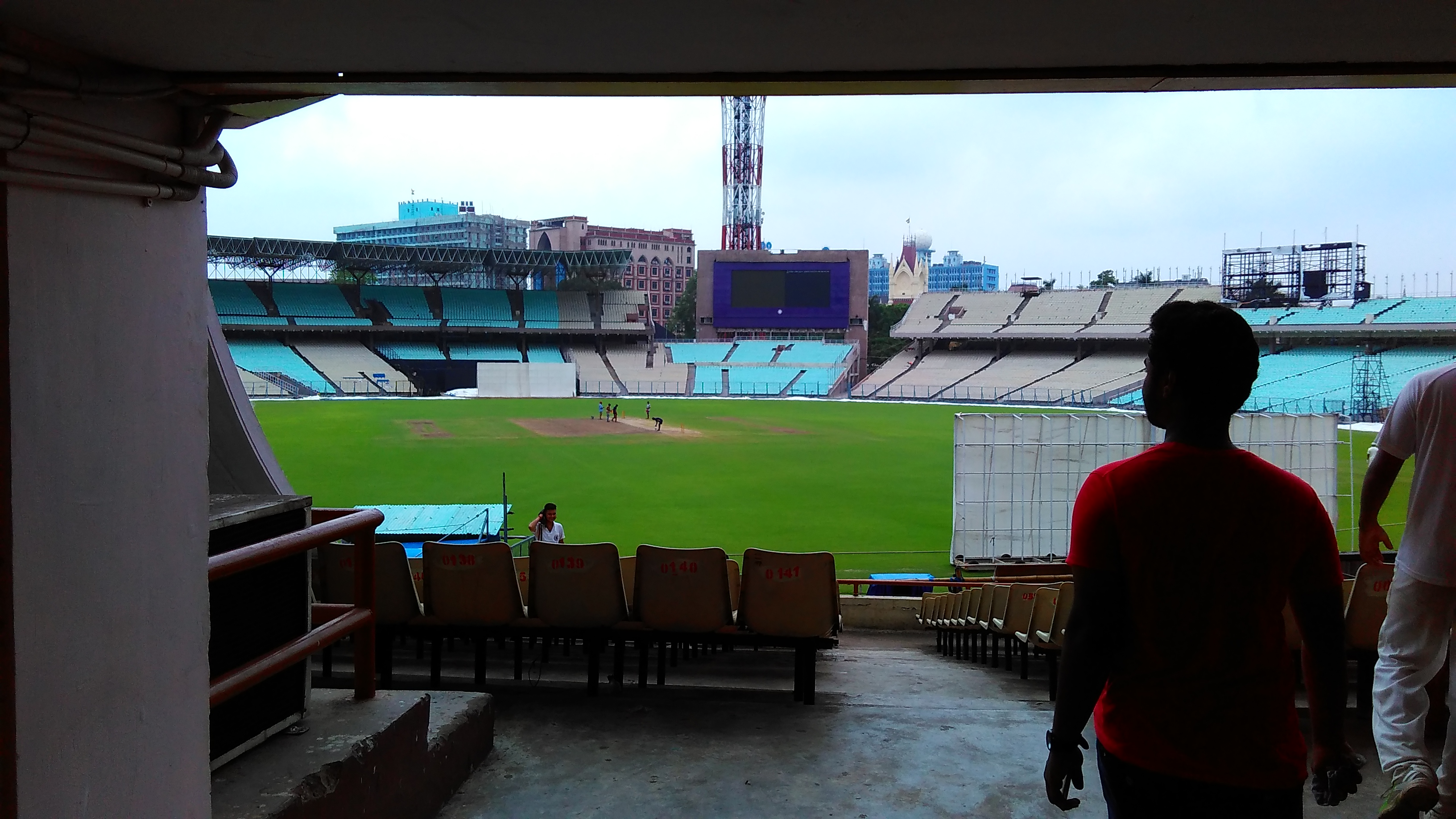 Eden Gardens. Photo by Abhimanyu Sengupta
