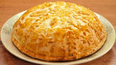 wedding pirog