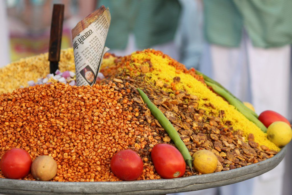 A bhelpuri stall arrangement Picture Courtesy: Flickr http://bit.ly/2akqQyB