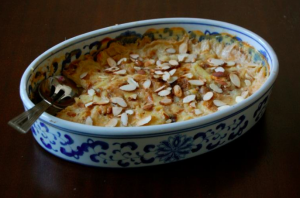 Milk and Egyptian Heritage Dishes
