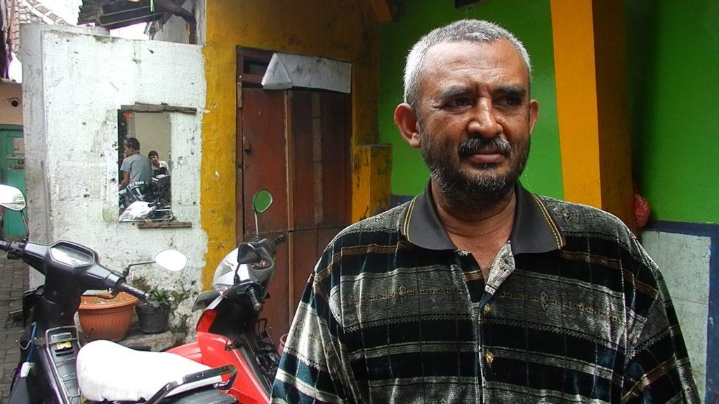 Yusuf, one of the veteran goat merchants of Kampung Bustaman.