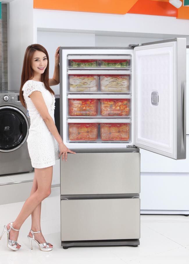 A modern-day 'kimchi refrigerator'. Photo credit: heraldk