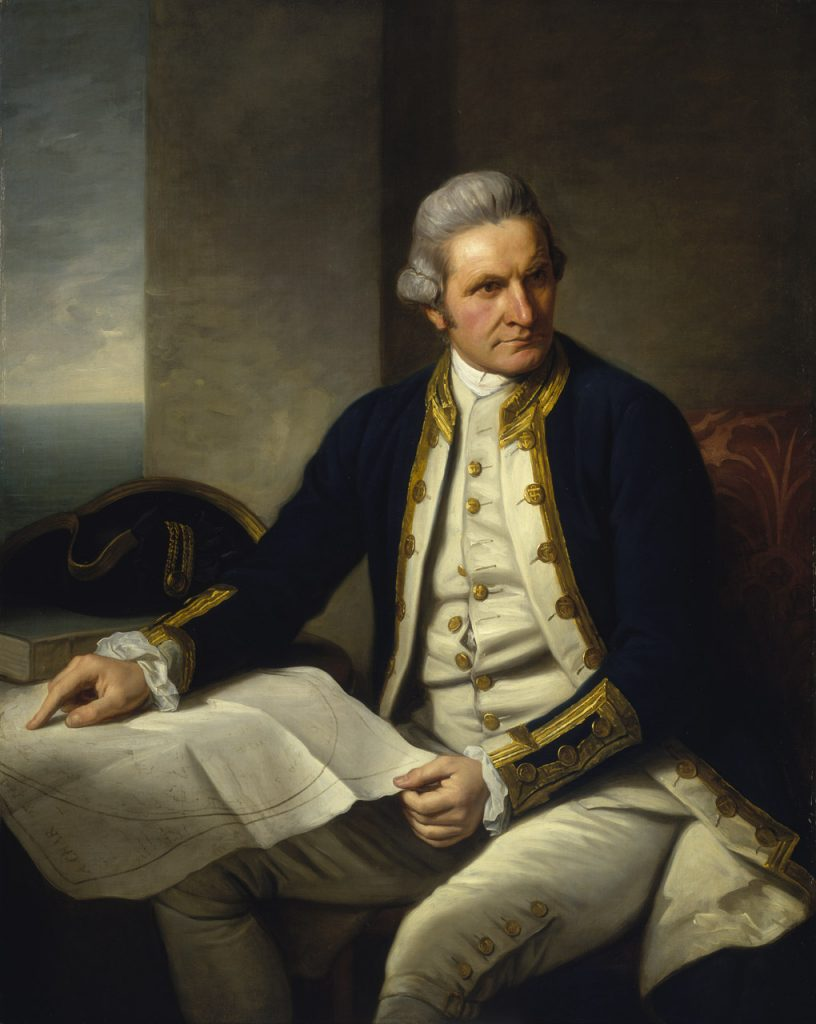 ames Cook, portrait by Sir Nathaniel Dance-Holland. Photo credit: National Maritime Museum, Greenwich
