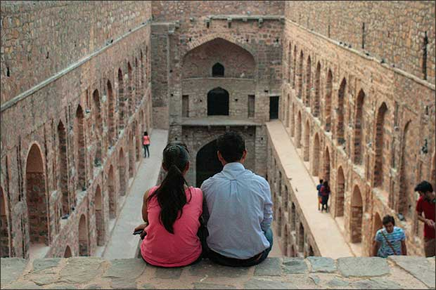 Agrasen Ki Baoli (stepwell) in Delhi Source: www.agrasenkibaoli.com